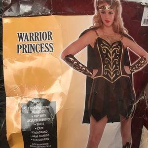 Warrior Princess costume size Large